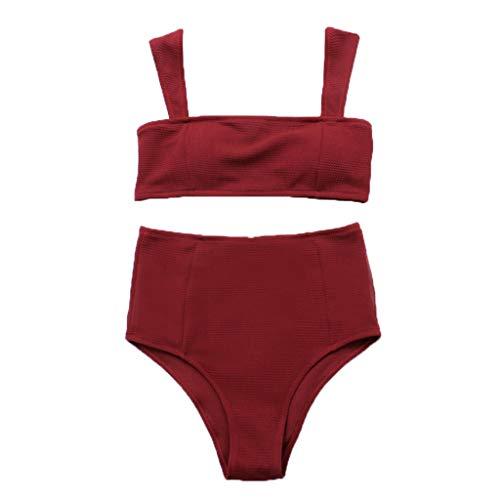 Luckycat Cintura Media Conjunto Bañador Bikini Mujer