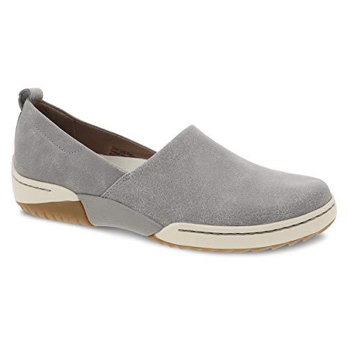 Dansko Women's Reba Grey Vintage Slip On Sneaker 9.5-10 M US