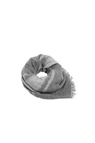 ESPRIT Accessoires Damen 099Ea1Q007 Schal, Grau (Medium Grey 035), One Size (Herstellergröße: 1SIZE)