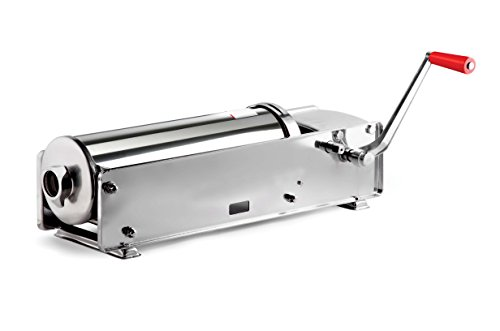Omcan 13722 10kg Commercial Horizontal Sausage Stuffer 2 Speed All SS Steel