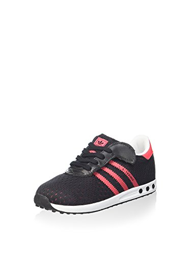 adidas Unisex-Kinder LA Trainer EM CF Sneaker, schwarz, 23 EU
