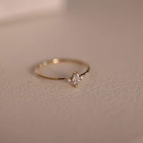 Amazon Com Marquise Diamond Engagement Ring Marquise Diamond Wedding Band Marquise Diamond Ring Minimalist Diamond Wedding Ring Stacking Ring Handmade