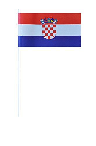 Flaggenfritze® Papierfahnen Kroatien