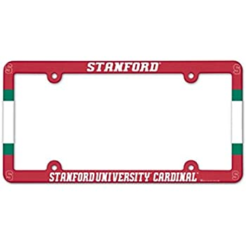 WinCraft Arizona State University Alumni Plastic License Plate Frame with Clear Tabs