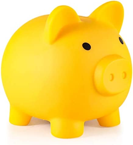 Piggy Bank My First Money Bank Unbreakable Plastic Coin Bank for Girls and Boys Medium Size product image