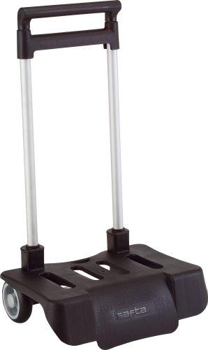 Safta Trolley per zaini scolastici, pieghevole, leggero, resistente con impugnatura e ruote estraibili