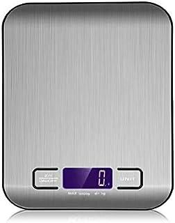 Bascula Digital Multifuncional Para Cocina Precisa - Uso Fácil Elegante Con Baterías
