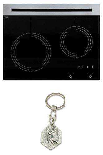 Zisa-Kombi Schott CERAN®-Kochfeld 545x450mm Gas 2fl. ohne Kamin (932988707612) mit Anhänger Hlg. Christophorus