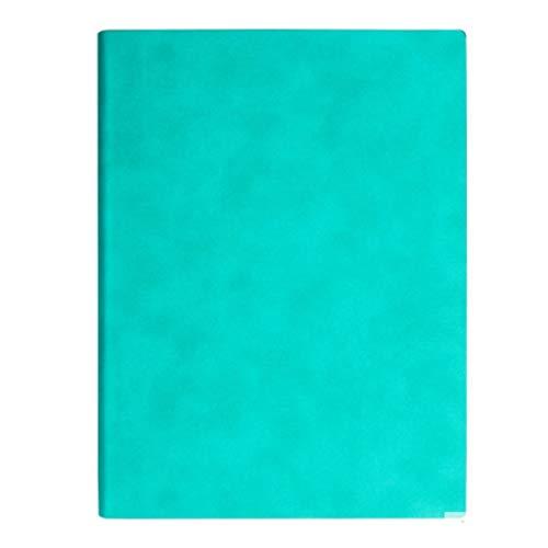 WPBOY Cuaderno de piel sintética gruesa A4, resistente al desgaste, 7 colores, libro grueso, impermeable a la tinta, para escuelas de negocios, etc
