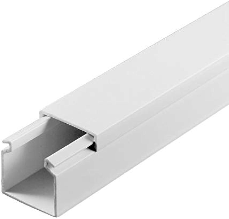 SCOS Smartcosat SCOSKK69 20 20 20 m Kabelkanal (L x B x H 2000 x 25 x 25 mm, PVC, Kabelleiste, Selbstklebend) weiß B07HZ2JNYQ | Kaufen Sie online  bbb81d