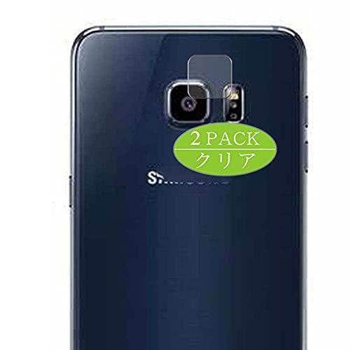 VacFun 2 Piezas Protector de Lente de cámara, compatible con Samsung Galaxy S6 edge plus Edge+, Cámara Trasera Lente Protector(Not Cristal Templado)