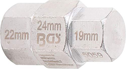 BGS 5059 | Motorrad-Spezial-Einsatz | 19 - 22 - 24 mm | für Steckachse Yamaha, Kawasaki, BMW, Honda, Suzuki, Kawasaki