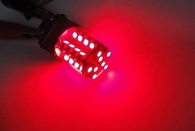 LEDIN A Pair Elegant of 7443 Red 40 SMD LED Light 7440 7441 Bulb 99 Stop Boston Mall