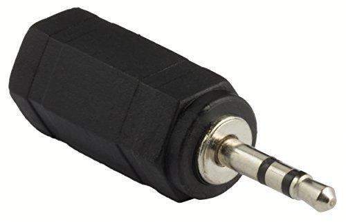 mumbi STEREO Audio Musik Klinken Adapter 2,5mm Stecker auf 3,5mm Buchse