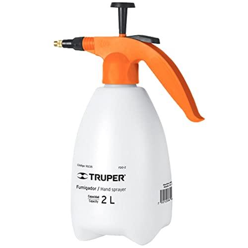 Fumigador Domestico Truper 2 Litros. Sanitiza o fumiga tu casa u oficina. Aspersor Atomizador cómodo y fácil de usar