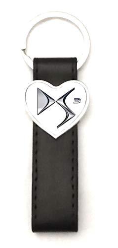 Porte-clés Acier/Simili Cuir Classic Love DS3
