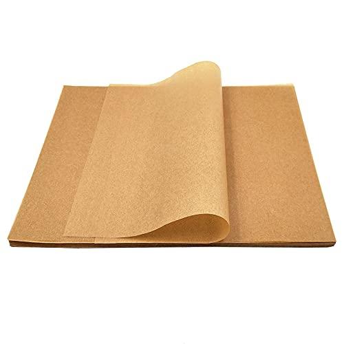 150Pcs Parchment Paper Baking Sheets: Parchment Paper Sheets   12x16 Inch Unbleached Non-Stick Precut Parchment Paper   Suitable For Grilling Air Fryer Steaming Bread Oven Pizza Cake Cup Pan