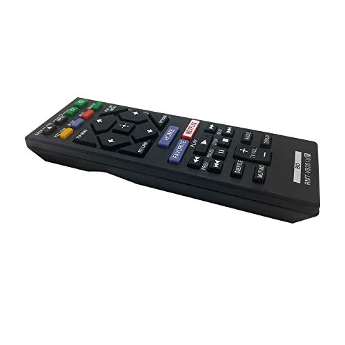 New Replacement RMT-VB201U Remote Control for Sony Blu-ray BD Disc DVD Player BDP-S3700 BDP-BX370 BDP-S1700 UBP-X700 BDPS3700 BDPBX370 BDPS1700 UBPX700 Smart TV - Pre-Programmed Easy to Use