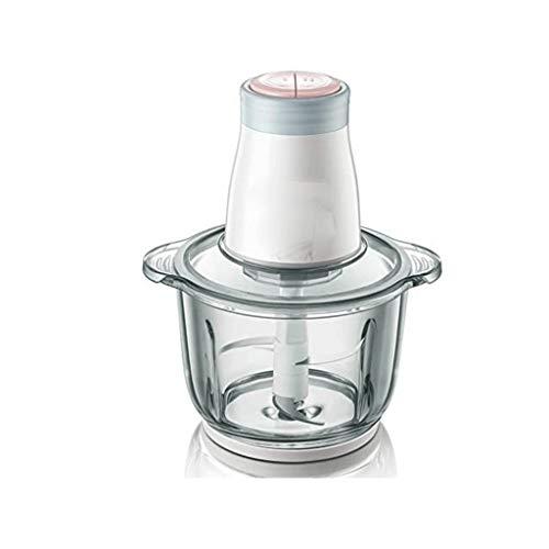 SCRFF Silent-Glas Hochwertiger Haushalt Multi-Funktions-Elektro-Fleischwolf, Nahrungsergänzungs Entsafter Gehacktes Fleisch Knödel Mincer Stopfmaschine