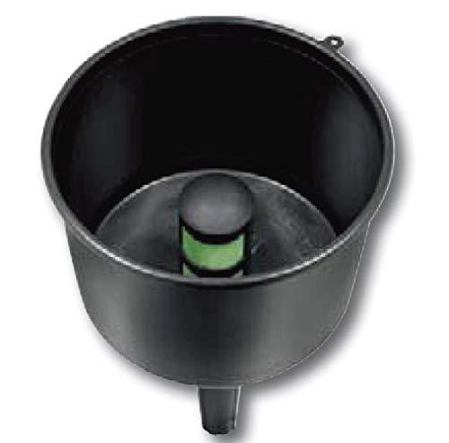 Trichter mit Filter Wasserabscheider 9 cm filtert Wasser und Schmutz aus Benzin