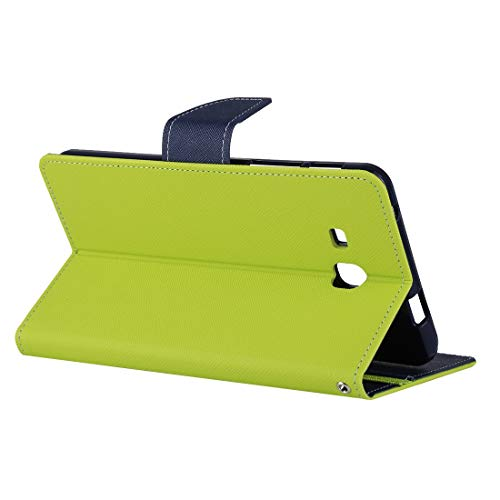 YPZHEN For Galaxy Tab A 7.0 (2016) / T285 Non-Slip Horizontal Flip Leather Case with Holder (Green)