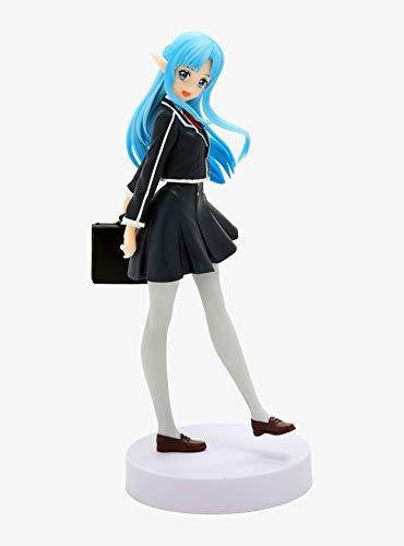 MMZ Sword Art Online - Schule Kleidung Yuuki Asuna (blau Messe) Action-Figur Sammlerstück for Sword Art Online Fans