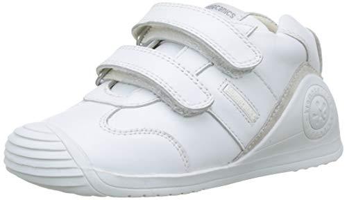Biomecanics 151157, Zapatos de primeros pasos Unisex Bebés, Blanco (Sauvage), 19 EU