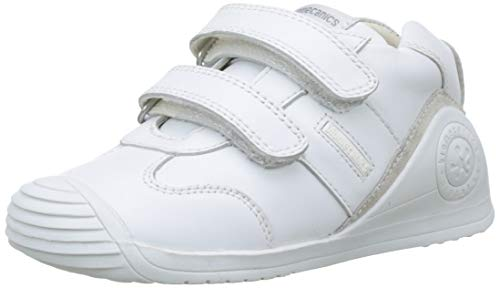 Biomecanics 151157, Zapatos de primeros pasos Unisex Bebés, Blanco (Sauvage), 22 EU