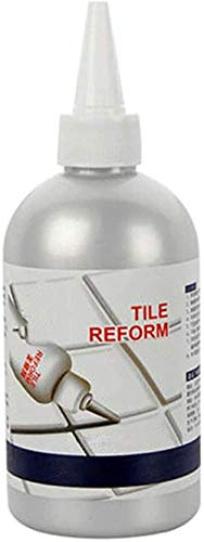 Revolutionary tile fix filler tile gap refill agent White Refill Reform Coating Mold Cleaner Glue Repair Gap,Ideal to Restore The Look of Tile Grout Lines (280(ML))