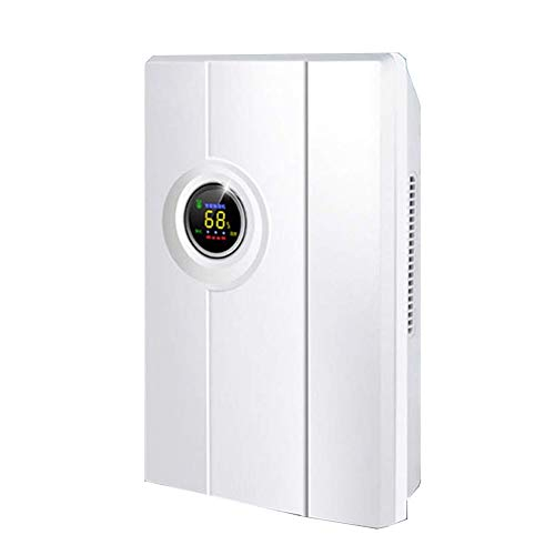 Buy LSYOA Home Electric Mini Dehumidifier, Portable Compact IntelligentQuiet Air Dryer Auto Shut Off...