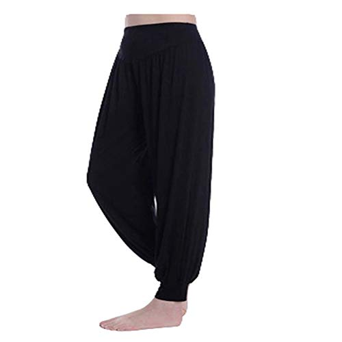 DISCOUNTL Pantaloni da Yoga per Donna Sciolti Pantaloni da Yoga per Yoga Pantaloni da Fitness Pantaloni da Ballo Pantaloni da Yoga