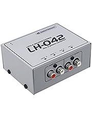 Omnitronic 10355042 LH-042 - Convertidor de Línea/Phono