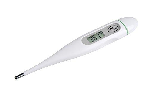 Medisana FTC digitales Fieberthermometer für Baby, Kinder und Erwachsene, oral, axillar oder rektal, wasserdicht mit Fieberalarm