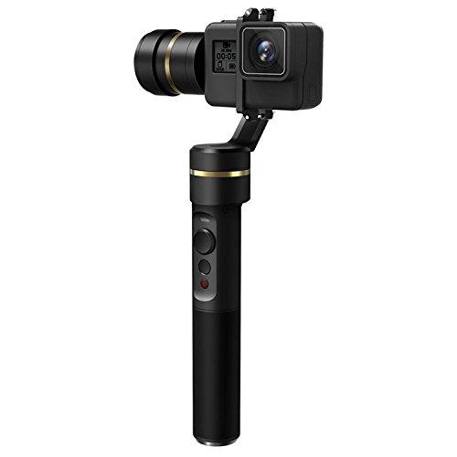 FeiyuTech G5, Gimbal pour Action Camera avec 2Batteries et 3Axes, stabilisateur Manuel à...
