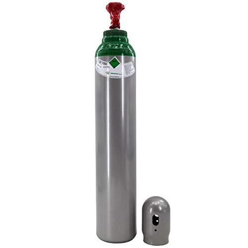 Gasflasche Reines Argon (100%) 8 Liter Schweißgas TIG WIG Legalisierung 1,7m3