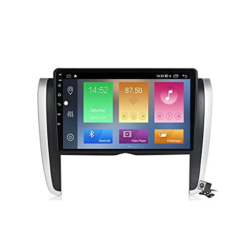 Buladala Android 9.1 GPS Navigation Stereo Radio para Toyota Allion T260 2007-2020, 9' Pantalla Coche Media Player Soporte Carpaly Android Auto/5G FM RDS/Control Volante/Bluetooth Hands-Free,M500