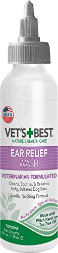 Vet's Best Dog Ear Relief Wash, 4 oz