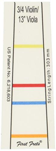 Erster Bund für 3/4 Violine, 33 cm (13 Zoll) Bratsche