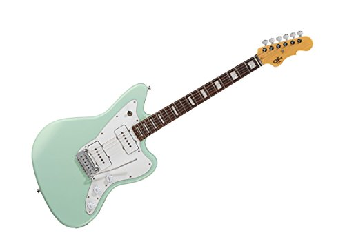 G&L Tribute Series Doheny Electric Guitar - Surf Green/Brazilian Cherry - TI-DOH-113R51R13