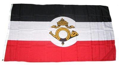 Fahne / Flagge Kaiserliche Reichspost NEU 90 x 150 cm