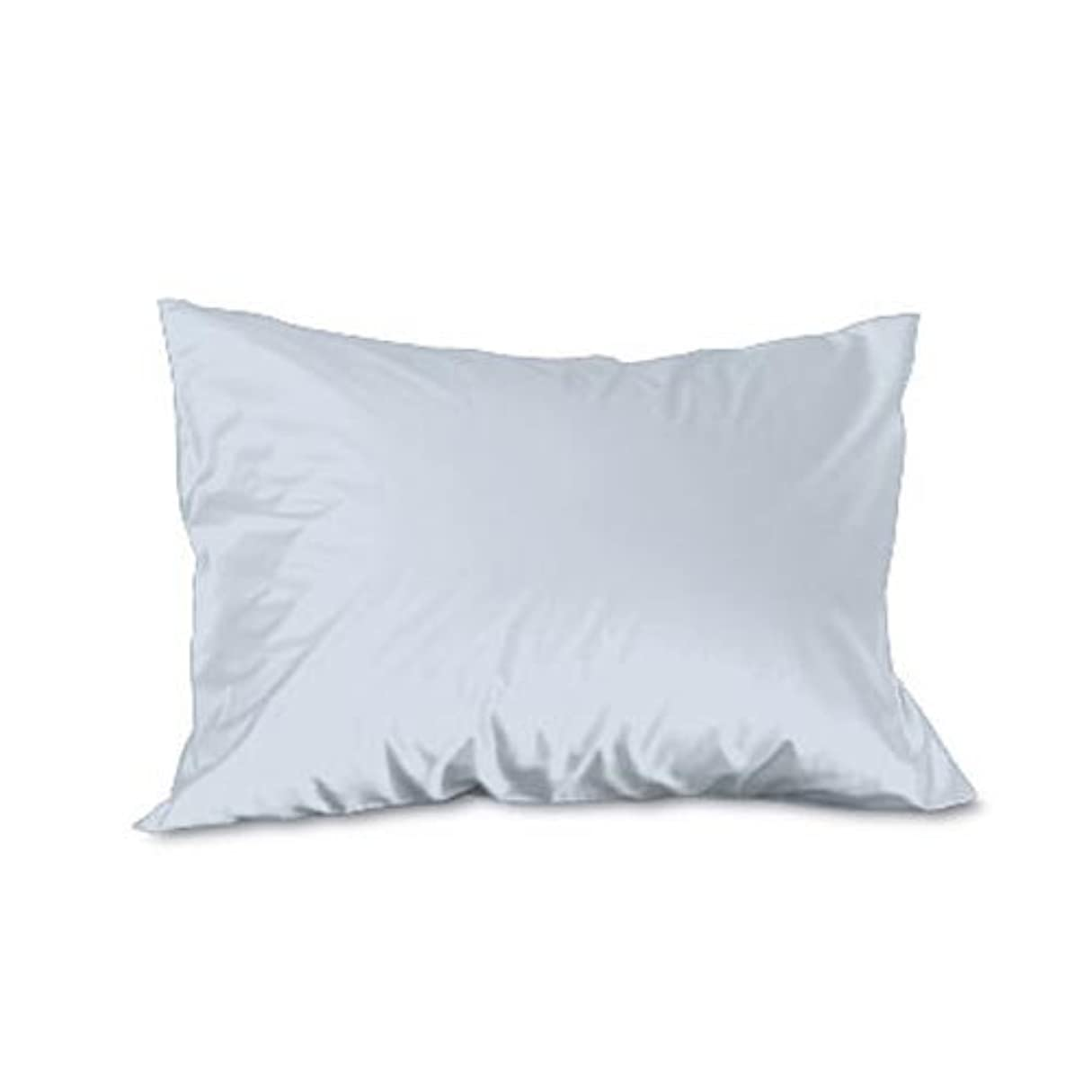ファランクスシート美徳Fab the Home 枕カバー?ピローケース ブルー 44×86cm ソリッド FH112811-380