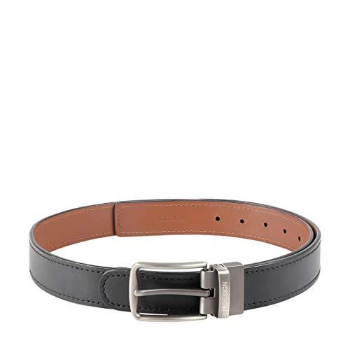 Hidesign Men's Leather Belt (Etienne_Black_X-Large)