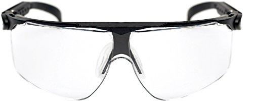 3M Maxim Schutzbrille Maxim0S, DX/UV, PC, klar, Rahmen schwarz