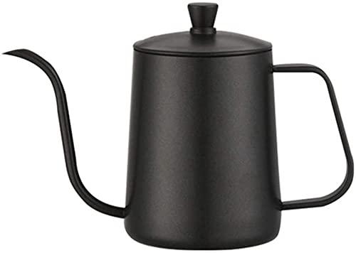 Cafetera con cuello de cisne y cafetera de goteo de 600 ml para principiantes y café negro (color: negro, tamaño: 600 ml) (color: negro, tamaño: 600 ml) (color: negro, tamaño: 600 ml)