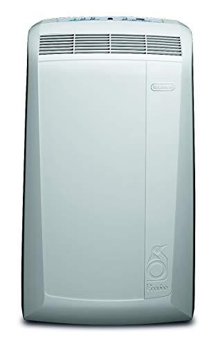 De'Longhi Pinguino PAC N82 Eco - mobiles Klimagerät mit Abluftschlauch, leise Klimaanlage für Räume bis 80 m³, Luftentfeuchter, Ventilationsfunktion, 12h-Timer, 2,4 KW, 75 x 45 x 39,5 cm, weiß