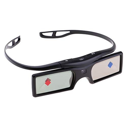 B Blesiya DLP LINK Bluetooth 3D Active Wiederaufladbare Verschlussbrillen für Projektor Nr. 1