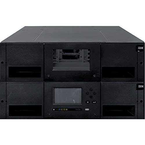 Why Choose Lenovo - 6741A3F IBM TS4300 3U Tape Library-Expansion Unit - 40 x Slot - Network (RJ-45) ...