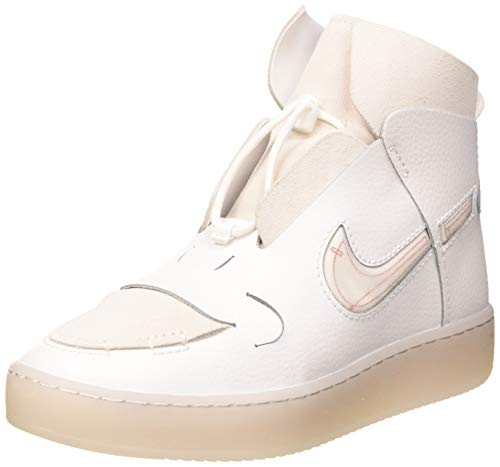 Nike Damen W Vandalised Basketballschuh, Gipfel weiß/Gipfel weiß-Universität rot, 40 EU