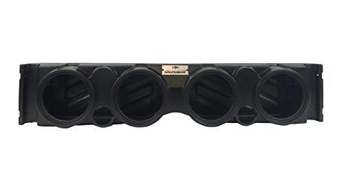 American Soundbar TJ/YJ Wrangler Overhead Audio Sound System Empty Enclosure (Black)