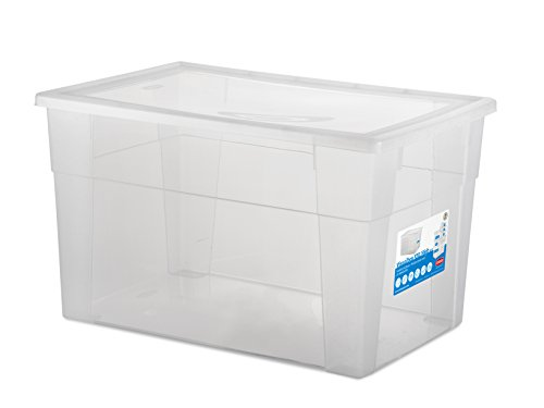 Stefanplast Visualbox Visual Box XXL Hight, Bianco, 60x40x35 cm